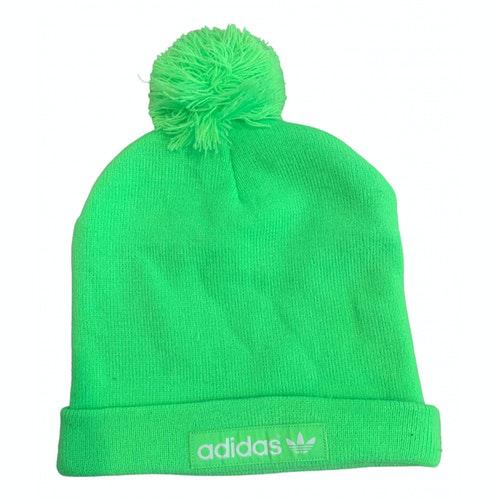 Adidas Originals Green Cotton Hat & Pull On Hat