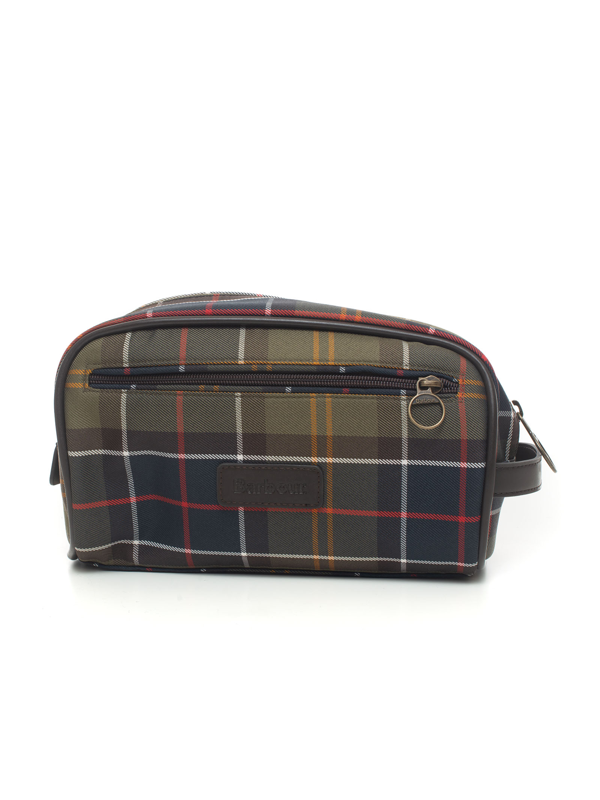 Barbour Fabric Clutch Green Polyester Man