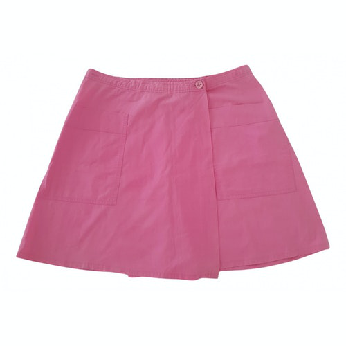 Claudie Pierlot Pink Cotton Skirt