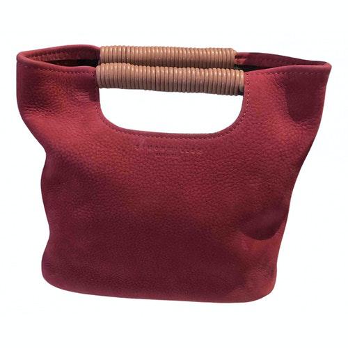 Simon Miller Burgundy Leather Handbag