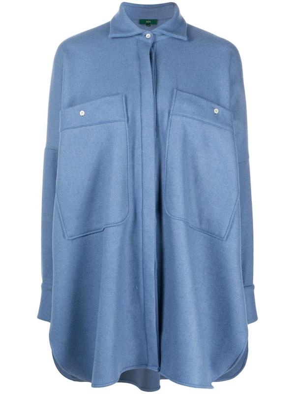 Jejia Langes Hemd In Blue