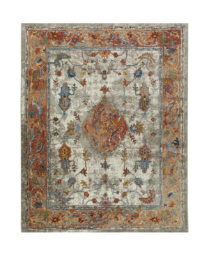 """Nicole Miller Parlin Aster Ivory 5'3"""" X 6'9"""" Area Rug"""