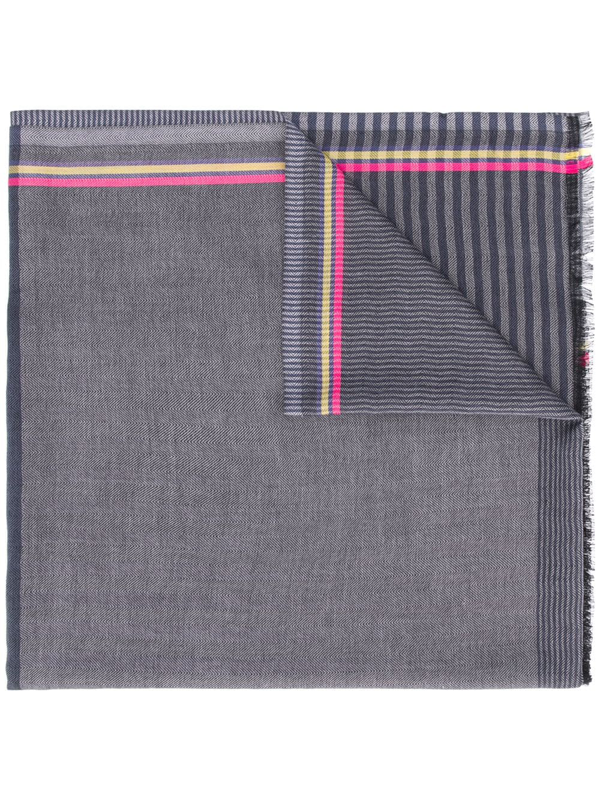 Ps By Paul Smith Schal Mit Jacquardmuster In Blue