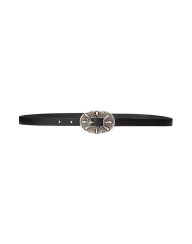 Polo Ralph Lauren Thin Belt In Black