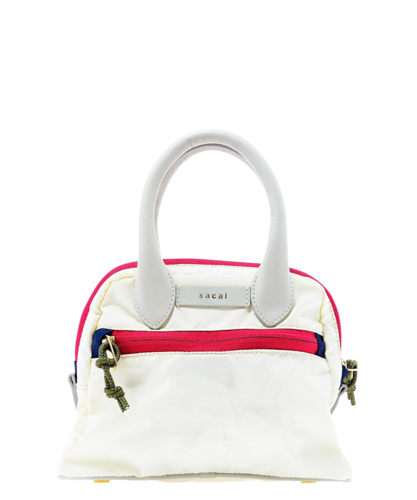 Sacai White Synthetic Fibers Handbag