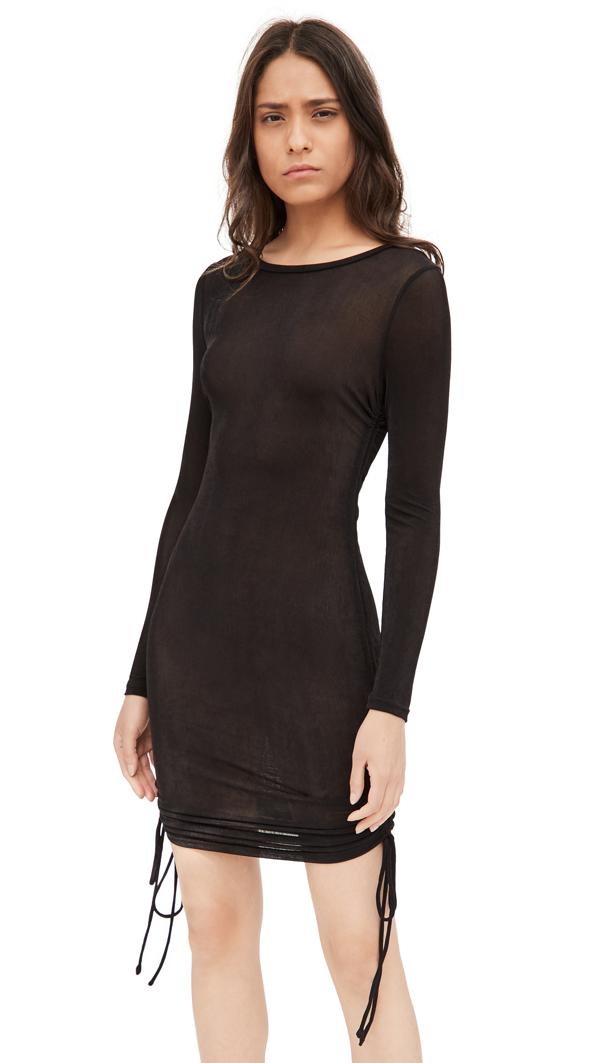 Lioness East Village Mini Dress In Black