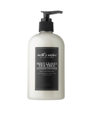 Earth's Nectar Mint Leaves Conditioner, 8 oz In White