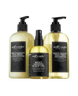 Earth's Nectar Mint Leaves Hair Therapy Trio