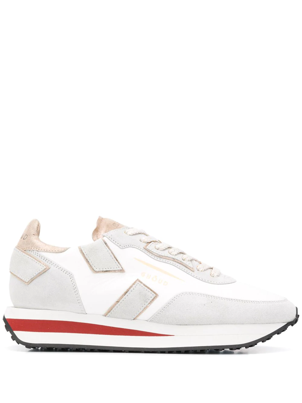 Ghoud Sneakers Rush In White Leather