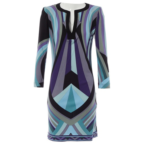 Leonard Multicolour Silk Dress