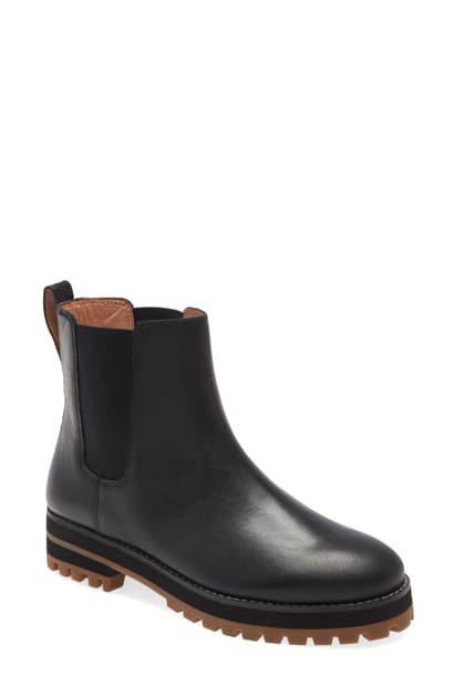 Madewell Ivy Chelsea Boot In True Black