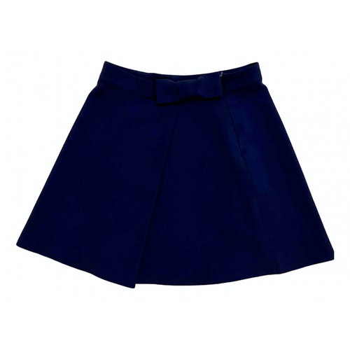 Claudie Pierlot Spring Summer 2019 Blue Skirt