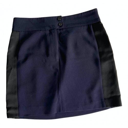Claudie Pierlot Blue Skirt