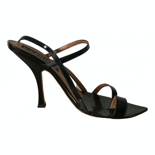 Y/project Black Patent Leather Heels