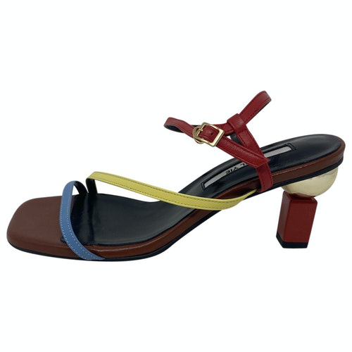 Yuul Yie Brown Leather Sandals