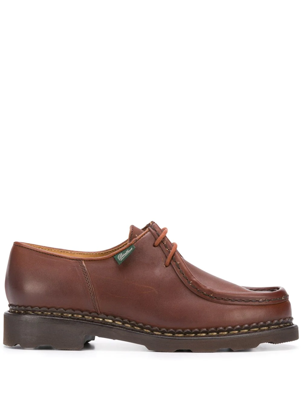 Paraboot Michael Lace-up Shoes In Brown