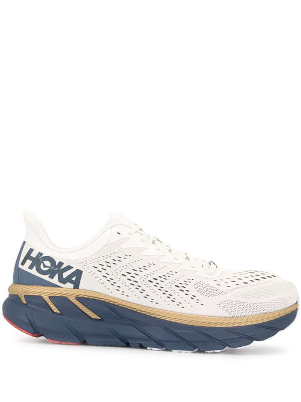 Hoka One One Clifton 7 Low-top Sneakers In Multicolour