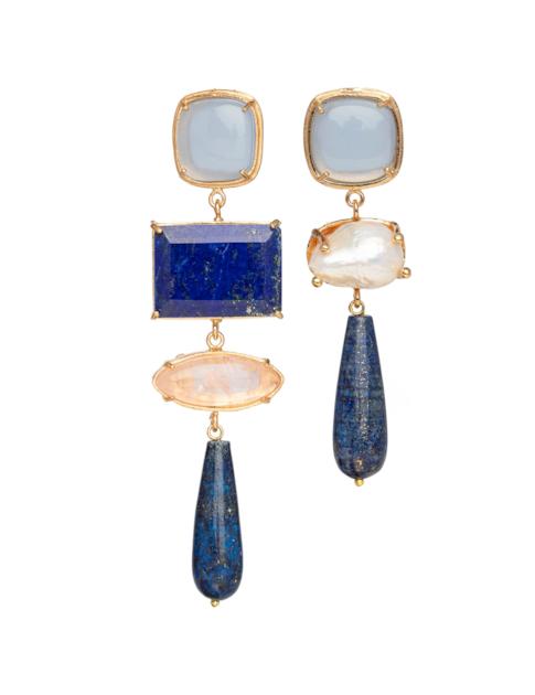 Christie Nicolaides Esmeralda Earrings Blue