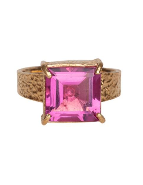 Christie Nicolaides Gaia Ring Pink