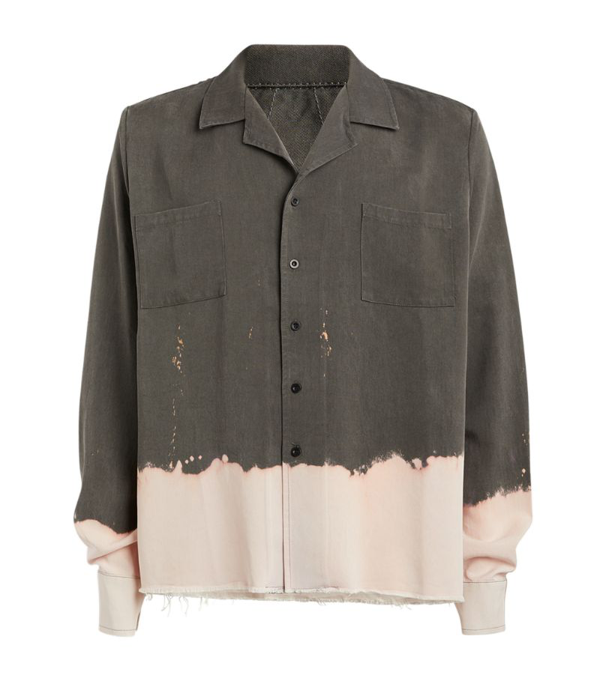 Rhude Bleach-distressed Shirt