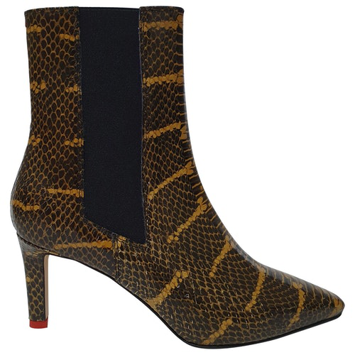 Aeyde Multicolour Leather Ankle Boots
