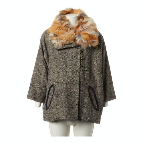Isabel Marant Étoile Multicolour Wool Coat