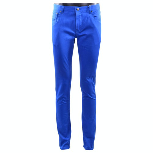 Moschino Blue Cotton Jeans