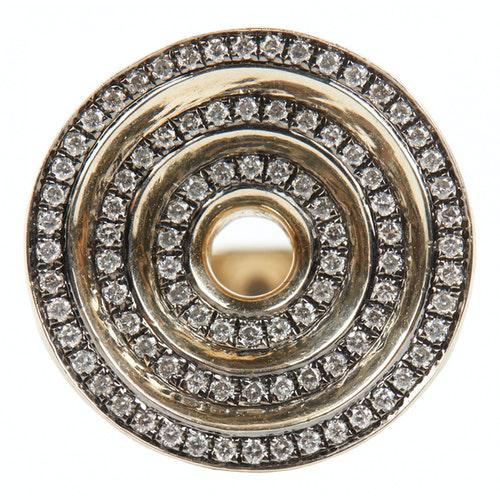 Noor Fares Grey Yellow Gold Ring