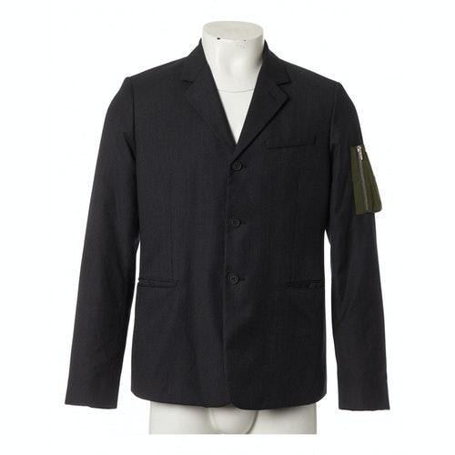 Dior Anthracite Wool Jacket