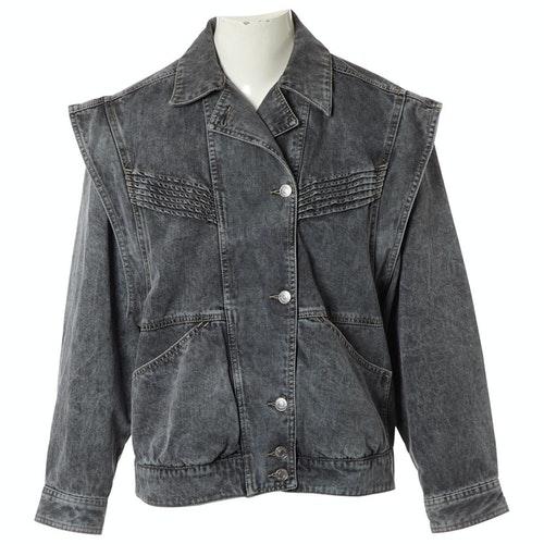 Isabel Marant Étoile Black Denim - Jeans Jacket