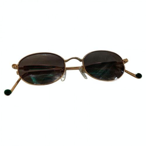 Jean Paul Gaultier Gold Metal Sunglasses