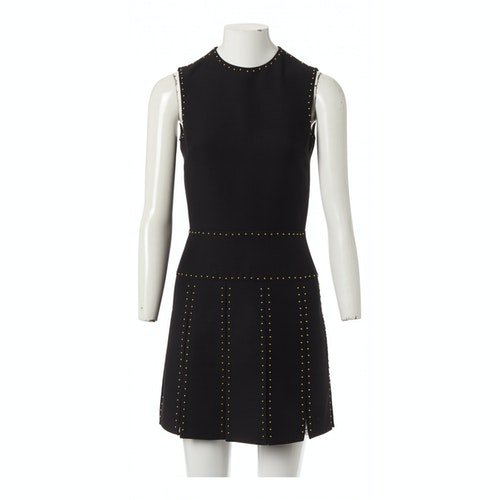 Valentino Black Wool Dress