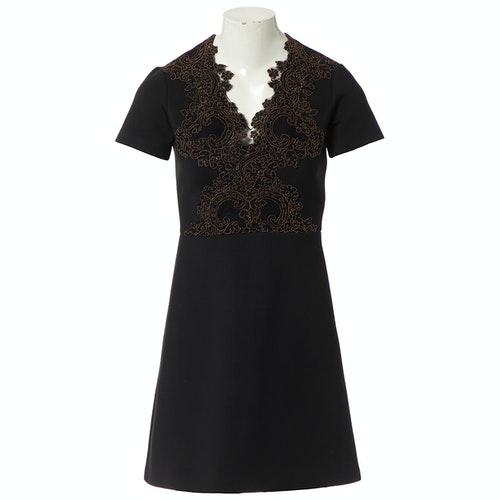 Sandro Black Dress