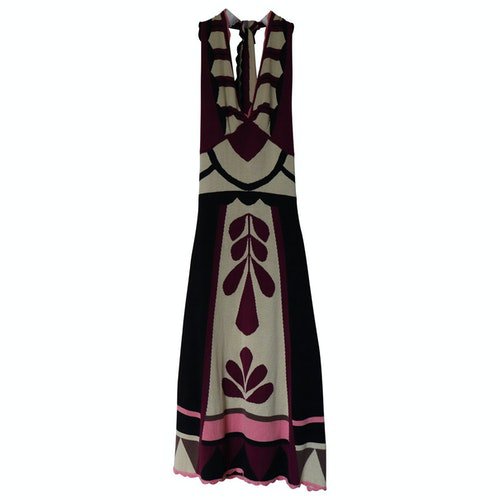 Temperley London Multicolour Silk Dress