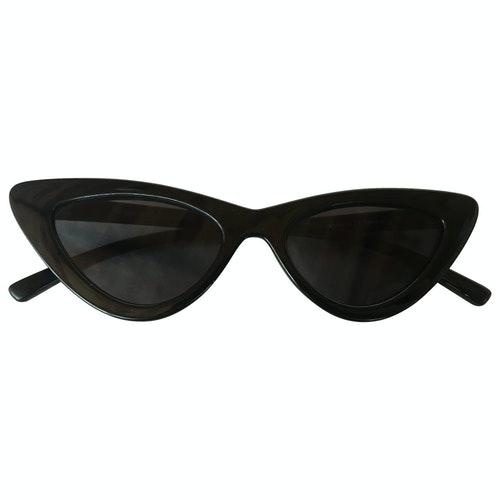 Le Specs Black Sunglasses