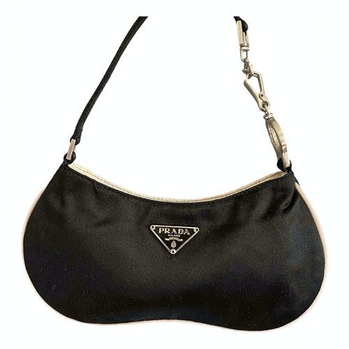 Prada Black Silk Handbag