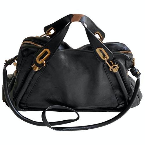 Chloé Paraty Black Leather Handbag