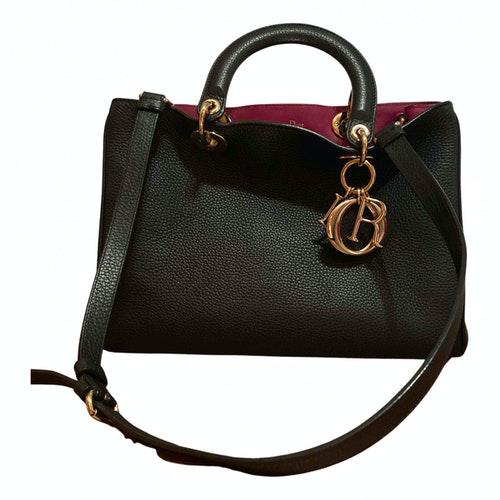 Dior Issimo Black Leather Handbag