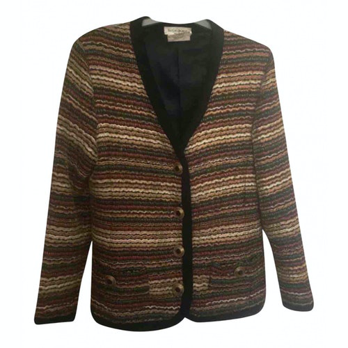 Saint Laurent Multicolour Wool Jacket