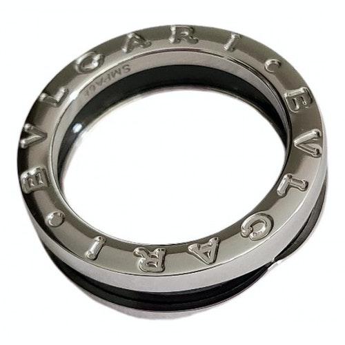 Bvlgari Save The Children Black Ceramic Ring