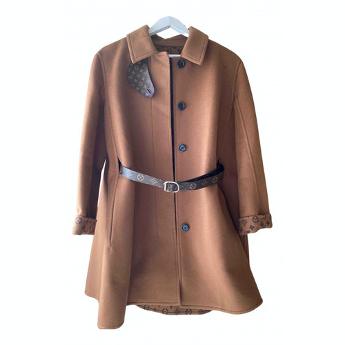 Louis Vuitton Brown Wool Coat