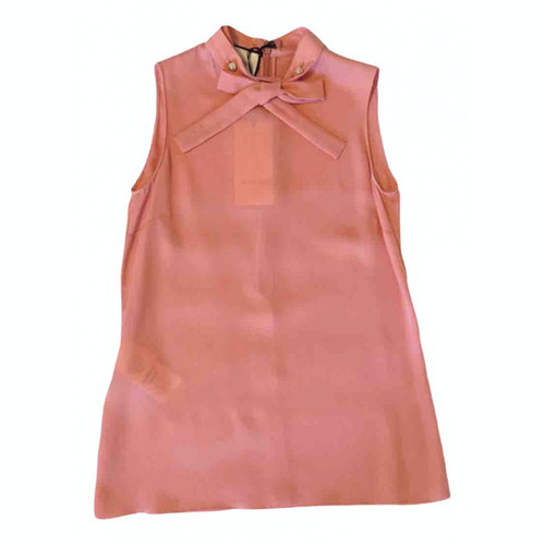 Gucci Pink Silk Top