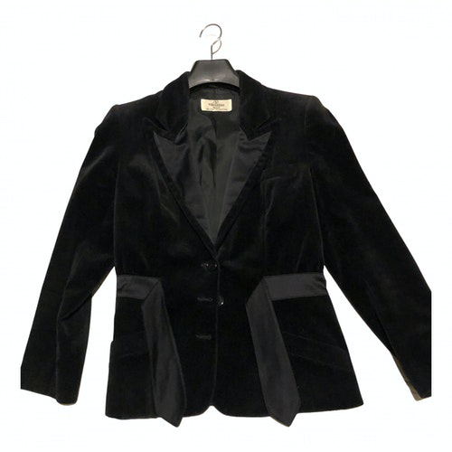 Valentino Black Cotton Jacket