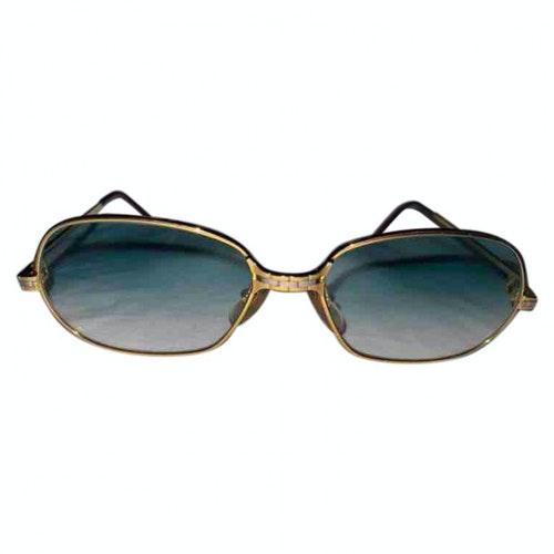 Cartier Gold Metal Sunglasses