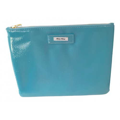 Miu Miu Green Clutch Bag
