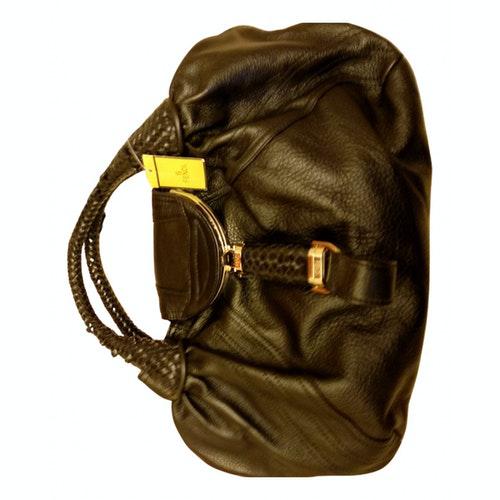 Fendi Spy Black Leather Handbag