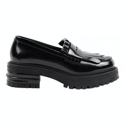 Dior Black Patent Leather Flats