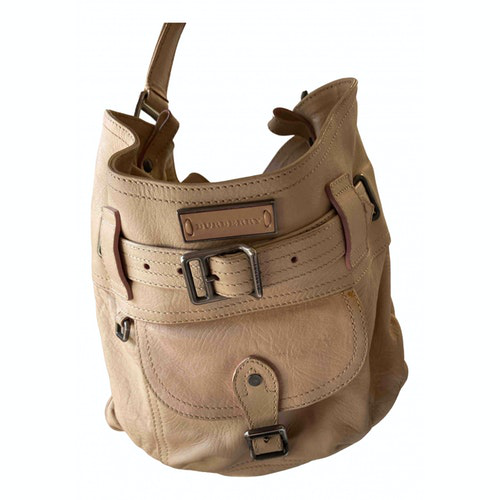 Burberry Beige Leather Handbag