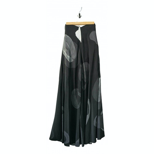 Stine Goya Black Silk Dress