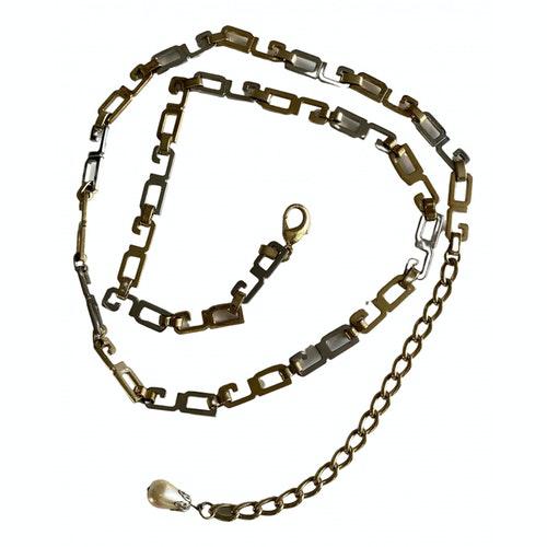 Dolce & Gabbana Gold Metal Belt